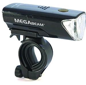 Sport Direct(TM) Bicycle Bike 0.5W MegaBeamTM LED Light Set 3 Diode LED Front Lamp & 3 Diode Rear CE Approved