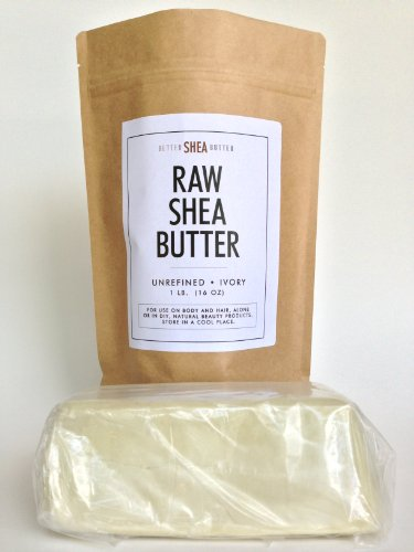 100% Raw Unrefined Organic Shea Butter - Best