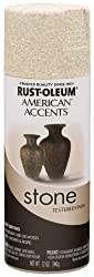 Rust-Oleum 7990830 American Accents Stone Textured Finish Spray Paint - BLEACHED STONE