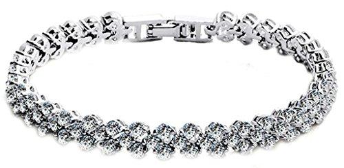 anazoz-bracelet-cristal-18k-plaque-or-blanc-incruste-aaa-cz-zircon-cubique-oxyde-de-zirconium-longue