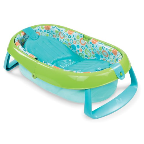 Summer Infant EasyStore Comfort Tub, Blue