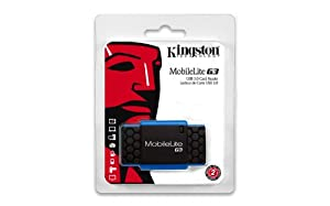 Kingston Digital MobileLite G3 Computer Memory Card Readers (FCR MLG3) by Kingston Digital, Inc.