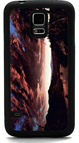 Rikki Knighttm Frederick Edwin Church Art Twilight In The Wilderness Design Samsung® Galaxy S5 Case Cover (Black Rubber With Front Bumper Protection) For Samsung Galaxy S5 I9600 front-625469