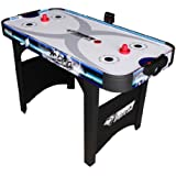 Triumph Sports Air Powered Hockey Table with Electric Scorer (48-Inch)
