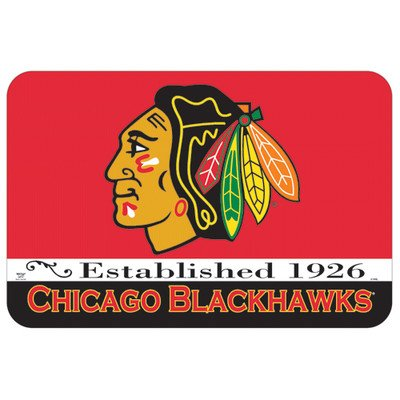 NHL Small Floor Mat, Chicago Blackhawks at Amazon.com