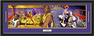 Los Angeles Lakers Kobe Bryant Photoramic Composite Photo Collage Framed With Team... by Art and More, Davenport, IA
