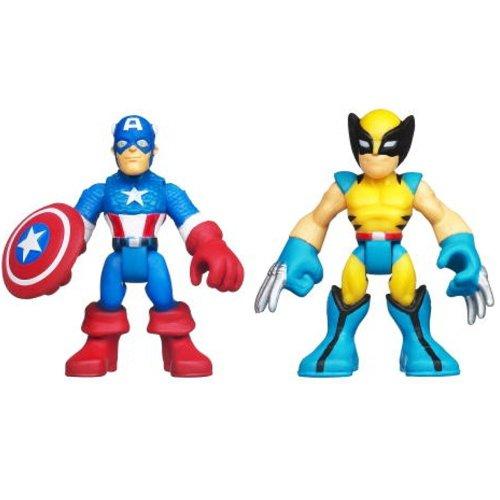 Marvel Super Hero Adventures Captain America & Wolverine front-889922