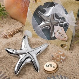 Fashioncraft Starfish Design Bottle Opener Favours (Beach Theme Bottle Opener compare prices)