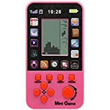 JXD Pink Kids Console For Children Toy Built-in 23 Games Retro Tetris Game Console Classic Intellectual Toys Handheld