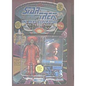 Star Trek The Next Generation Guinan 4 inch Action Figure