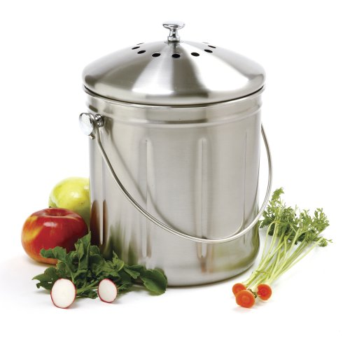 Norpro-15-Gallon-Stainless-Steel-Compost-Keeper