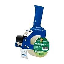Duck Brand Standard Tape Gun, Includes 1 Roll of 54-Yard Standard Tape, Tape Gun May be Blue or Green (669332)