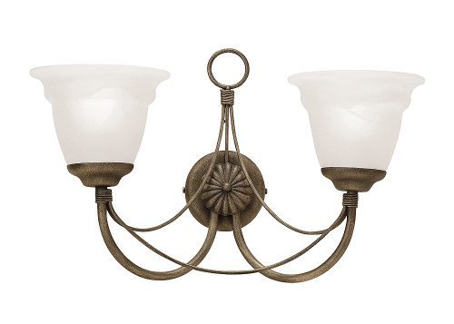 Elstead Carisbrooke CB2 BLK Traditional Wall Lights Double