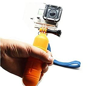 UFCIT(TM) Floating Handle Grip Pole + Thumbscrew + Wrist Strap Accessory Kit for Gopro Hero1 Hero2 Hero3 Hero 3+ Camera