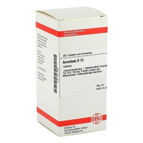 ACONITUM D 12 Tabletten 200 St Tabletten
