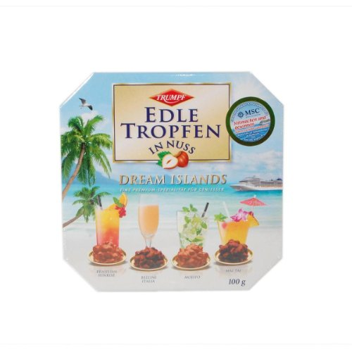 Trumpf Edle Tropfen in Nuss Dream Islands - 1 x 100 g