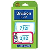 Division 0-12 Flash Cards by School Zone Publishing Company Staff