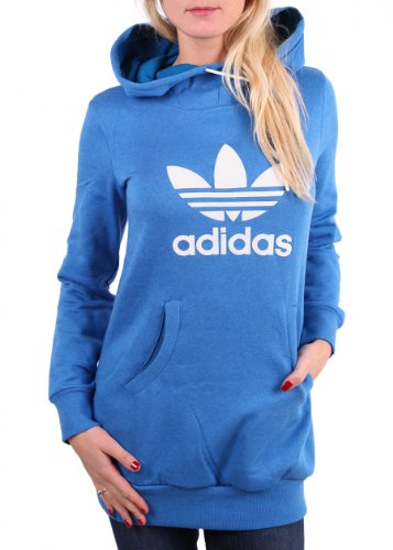 ADIDAS &quot;Long Logo Hoodie&quot; Damen