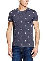 Dirk Bikkembergs Camiseta Manga Corta (Azul Grisáceo)