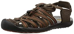 KEEN Men\'s Kuta Sandal, Cascade Brown/Gingerbread, 11 M US