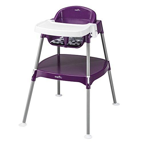 Evenflo Mini-Meal High Chair, Dottie Grape - 1