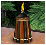 Lamplight Farms 1112089 Royal Polynesian Table Torch, Bamboo, 12-oz. Canister - Quantity 4