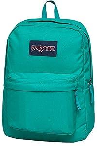 JanSport Mens Classic Mainstream Superbreak Backpack - Spanish Teal / 16.7
