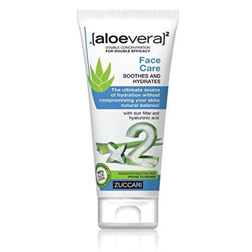 Zuccari [aloevera]²  - Crema viso idratante e lenitiva , 50 ml