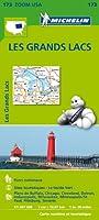 Carte Les Grands Lacs Michelin