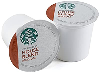 Starbucks House Blend Medium Roast Coffee Keurig K-Cups, 96 Count by Starbucks
