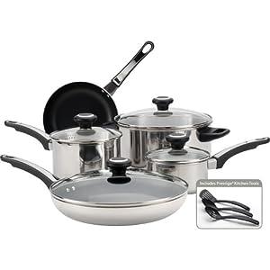 Farberware High Performance Stainless Steel 12-Piece Cookware Set