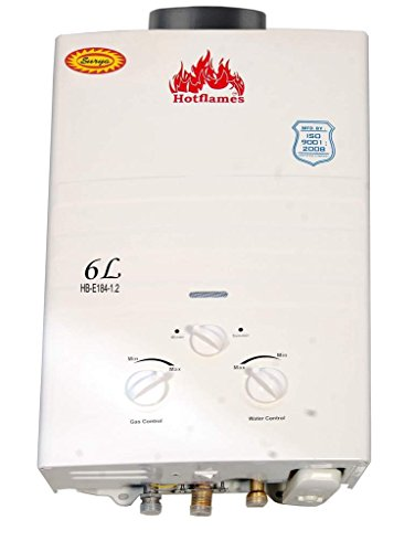 HB-E184 6 Litres Gas Water Geyser