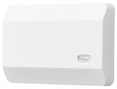 NuTone LA11WH Decorative Wired Two Note Door Chime White Textured Finish N