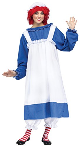 Fun World Costumes Women's Raggedy Ann Adult Costume