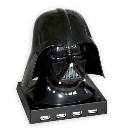 Star Wars Darth Vader Bust 4 Port USB Hub