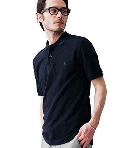 (ユナイテッドアローズグリーンレーベルリラクシング) UNITED ARROWS green label relaxing ◎SUPIMA/C LOGO ポロシャツ S/S 32171993614 09 Black S