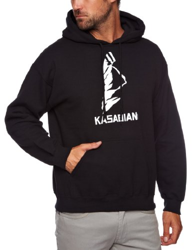 Kasabian Ultra Face Mens Hoody Black Small