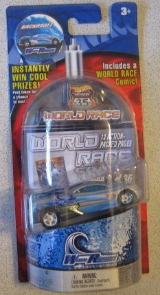 Hot Wheels World Races - Wave Rippers - Backdraft - 3/35 - 1