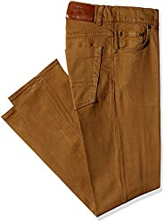 Gant Men's Regular Fit Jeans (8907036172423_GMJEF0011_34W x 36L_Khaki)