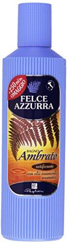 Felce Azzurra - Bagno Ambrato E Argan, Detergente pelle con olii essenziali aromatici -  750 ml