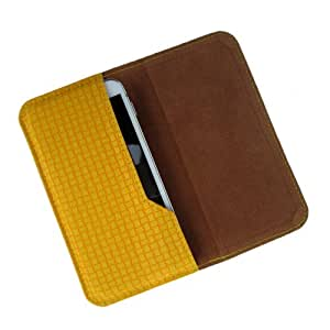 i-KitPit : PU Leather Flip Pouch Case Cover For Oppo N1 (YELLOW)