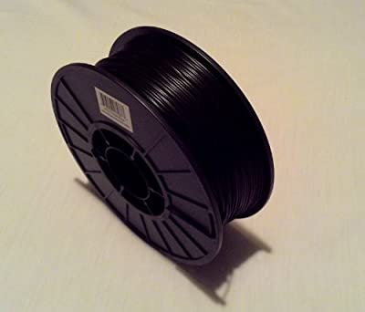 Filament Outlet Black PLA 1.75mm 3D Printer Filament 1kg (2.2lbs) spool USA