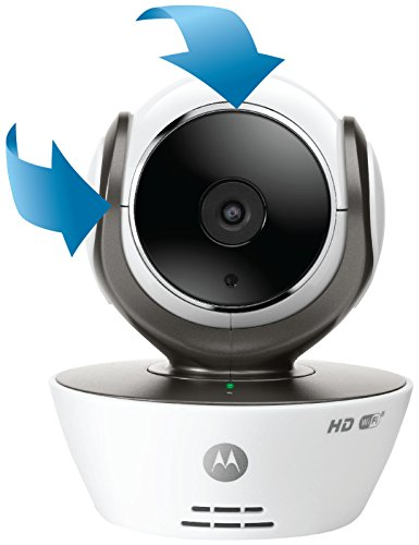 Why Choose Motorola MBP85CONNECT Wi-Fi Video Baby Monitor Camera