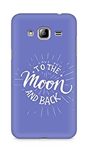 AMEZ love you to the moon and back Back Cover For Samsung Galaxy J3 (2016 EDITION)