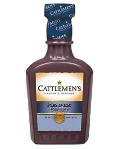 CATTLEMEN'S. Master's Reserve Memphis Sweet BBQ Sauce: 18 OZ