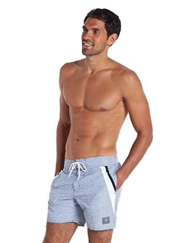 SPEEDO Shorts da Bagno Retro Pt Leis 16 Wsht Am [Blu Scuro/Bianco]