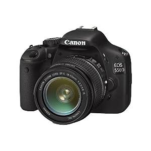 Canon EOS 550D Digital SLR Camera (inc 18-55 mm f/3.5-5.6 IS Lens Kit)