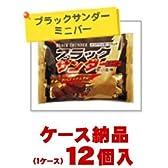 【ご注意ください!1ケース納品です】 有楽製菓 ブラックサンダーミニバー 180g×12個入【1ケース納品】