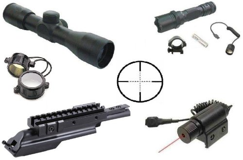 41rZt8vjkgL NcStar 1 Scope Mount/12 Gauge Mag. Tube for 1 Flashlight/Laser (MS1M)
