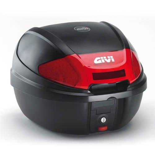 GIVI E300 MONOLOCK 30LT TOP BOX  &  FREE BASE PLATE KIT